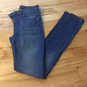 Express mid rise skinny jeans size 0